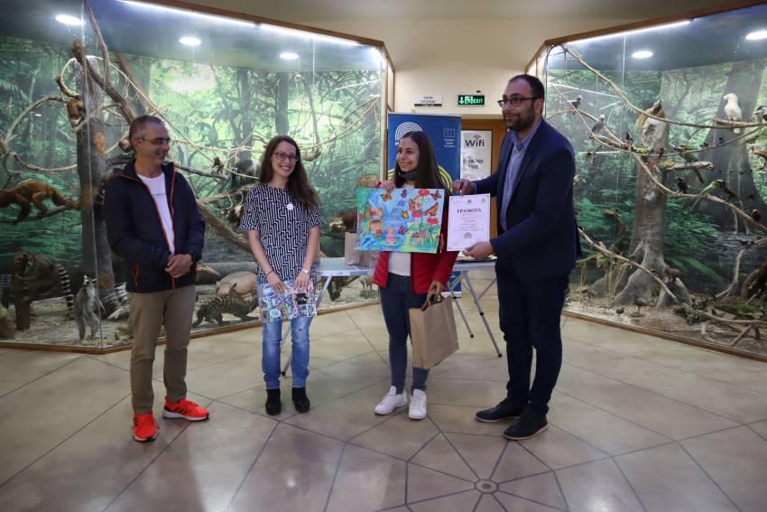 """Наградиха победителите в конкурса """"Пеперуден свят"""" на Природонаучния музей"""