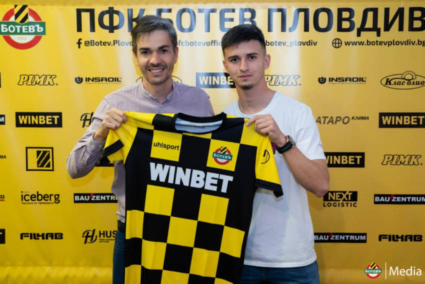 Ботев Пловдив подписа с юношата на Клуба Юсеин Касов
