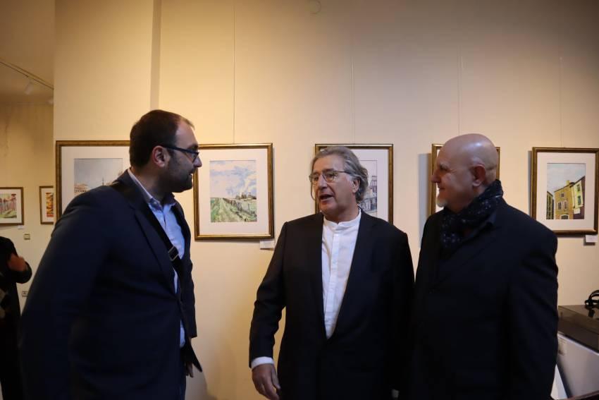 """Откриха изложба на известния френски художник Гийом дьо Бодюс в галерия """"Савов"""""""