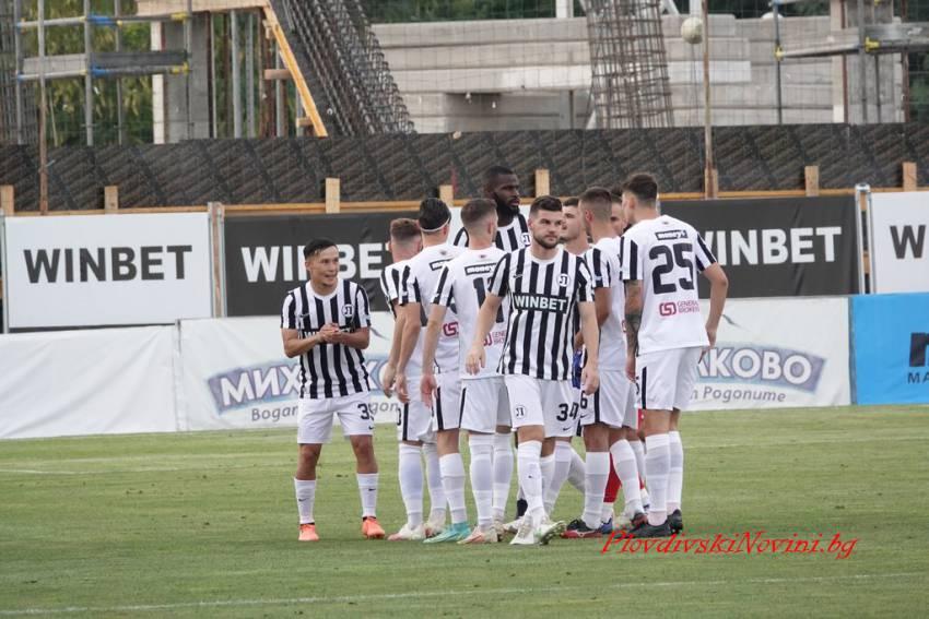 Локомотив Пловдив победи Локомотив София и е първият 1/4-финалист за Купата (репортаж)