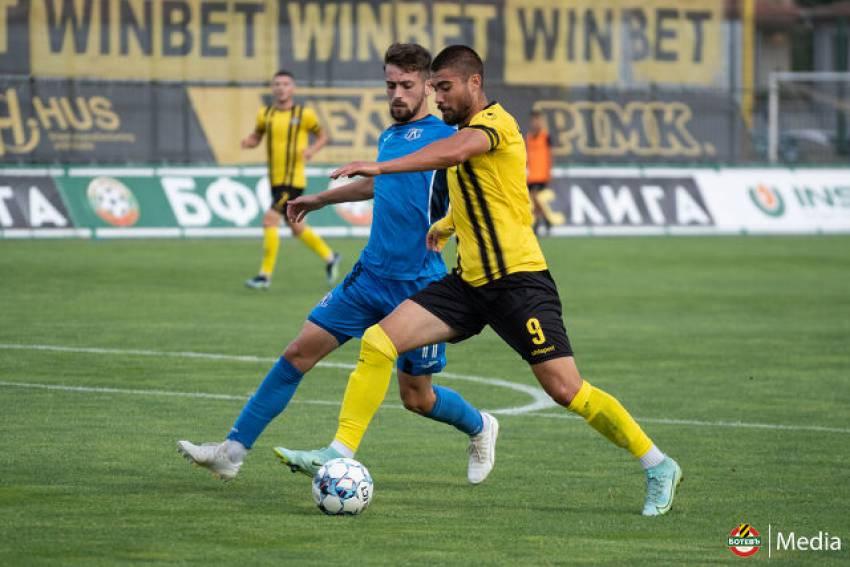Дубълът на Ботев с важна победа над Нефтохимик - 2:1 в Пловдив