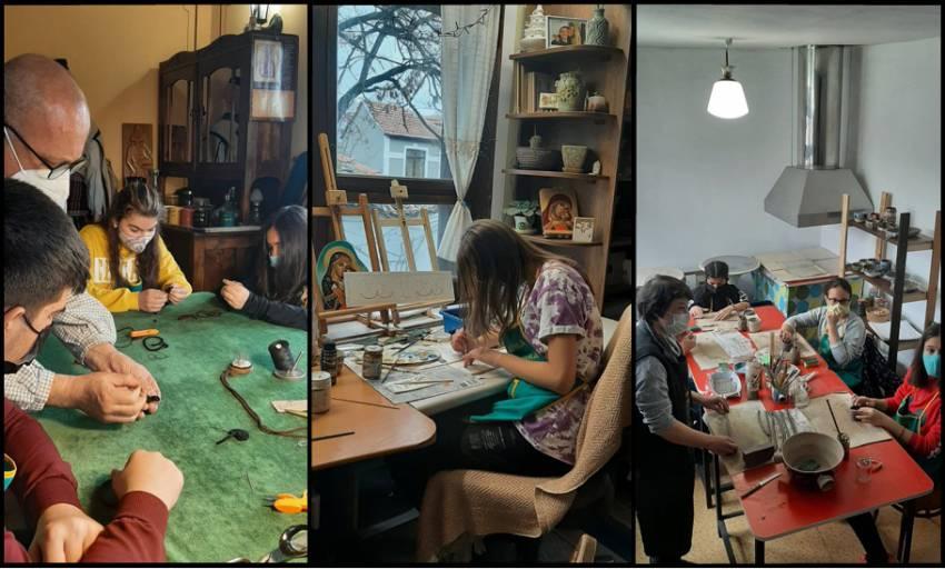 Занаятчийско училище за деца в Старинен Пловдив започна обучението
